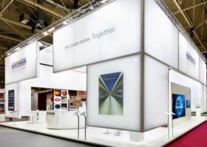 Gix Huntsman exhibition design standdesign
