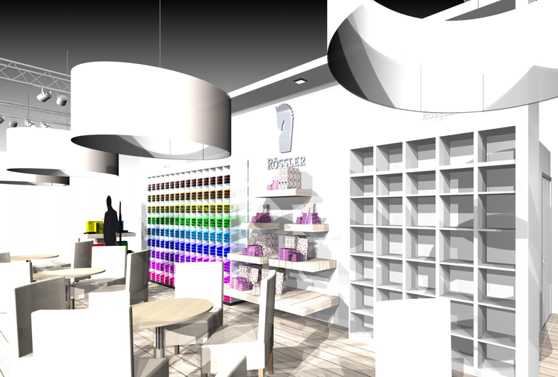 Gix Rössler exhibition design standdesign messebau