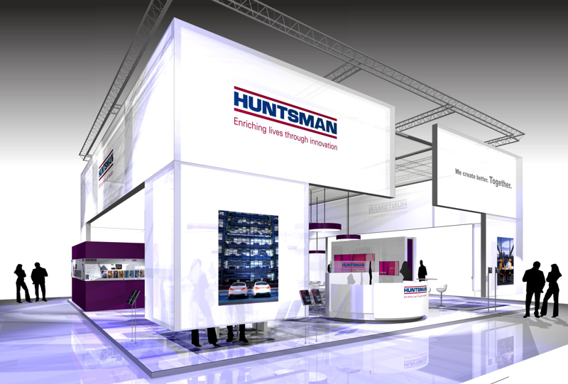 Gix Huntsman exhibition design standdesign