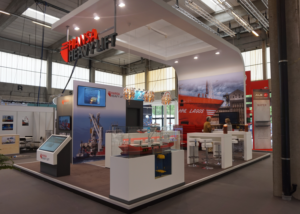 Gix Hansa Heavy Lift exhibition design standdesign messebau