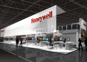 Gix honeywell design exhibition standdesign messebau
