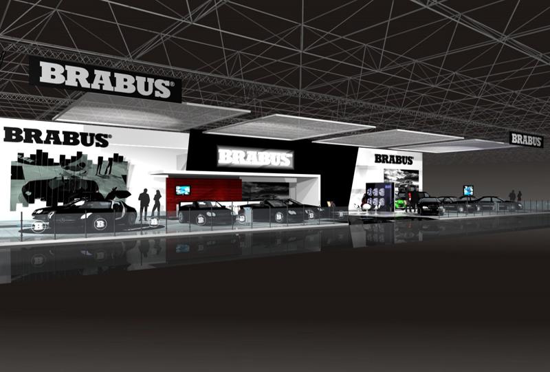 Gix Brabus design exhibition standdesign messebau