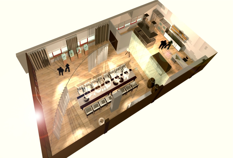 Gix Hela interior design
