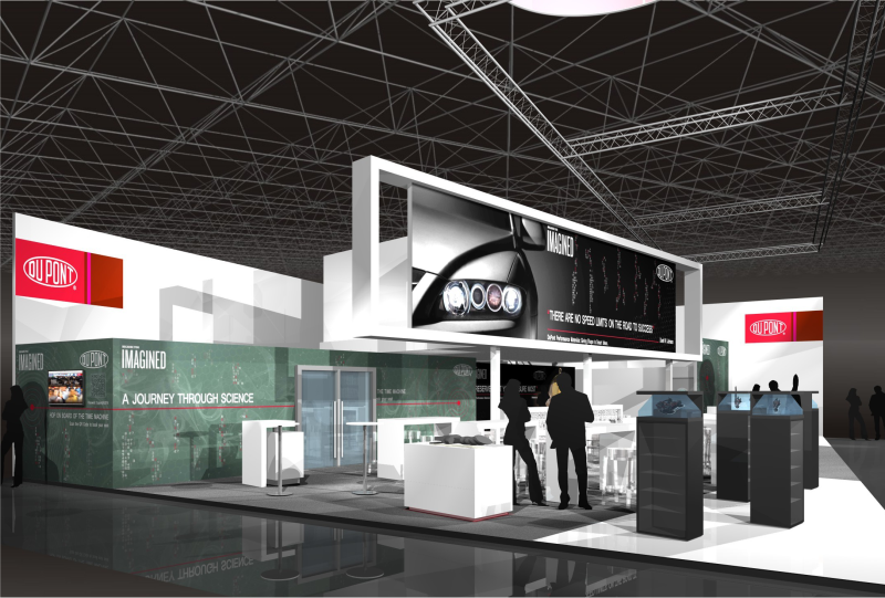 DuPont Gix standdesign design exhibition K-2016
