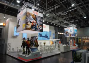 Gix DuPont exhibition design A&A